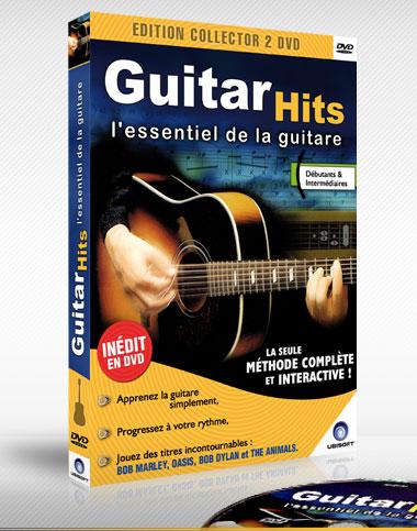 Guitar hits la m thode de guitare sur dvd pour apprendre jouer de la guitare sans solf ge - Apprendre la guitare seul mi guitar ...